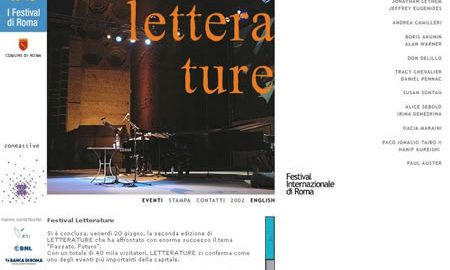 Image for: Festival Letterature 2003