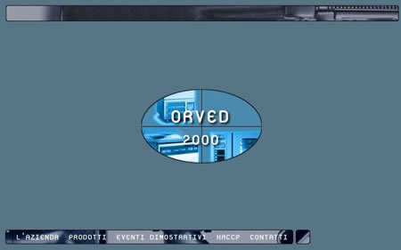 Orved 2000 – Web Site