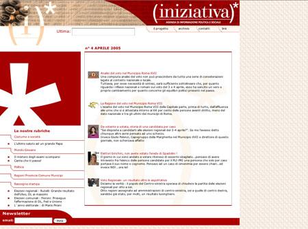 Iniziativa web