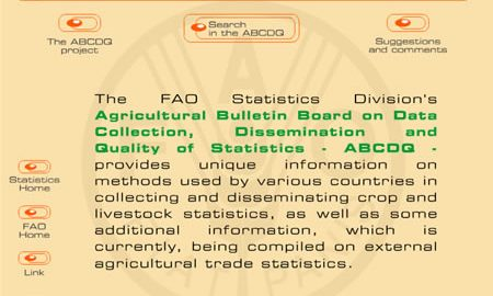 Image for: FAO Statistic Division – ABCDQ