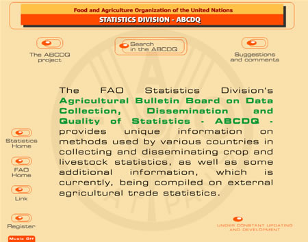 FAO Statistic Division – ABCDQ