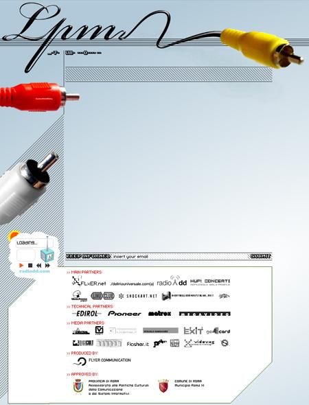 LPM 2005 – Web Site