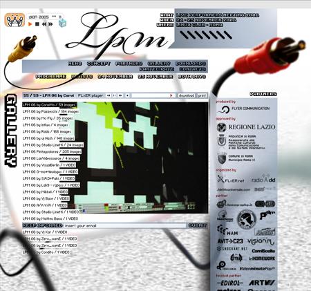 LPM 2006 – Web Site