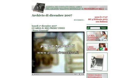 Pronto Francesca: Special Service