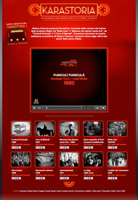 History Channel – Karastoria