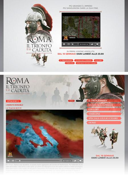 History Channel – Roma: il trionfo e la caduta