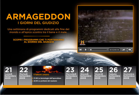 History Channel – Armageddon