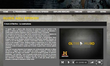 Image for: History Channel – Oltre il Muro