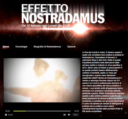 History Channel – Effetto Nostradamus