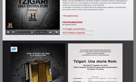 Image for: History Channel – Giornata della Memoria 2010