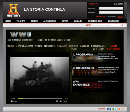 History Channel – WWII Gli archivi ritrovati