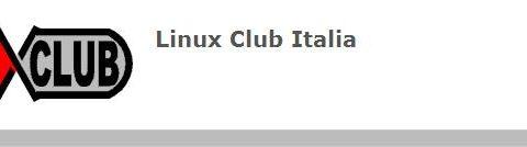 Gianluca Del Gobbo Presidente del Linux Club Italia
