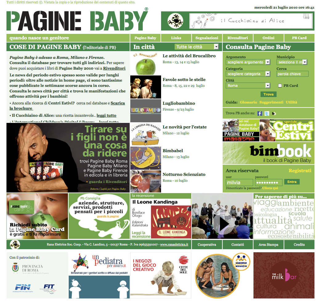 PagineBaby 2.0