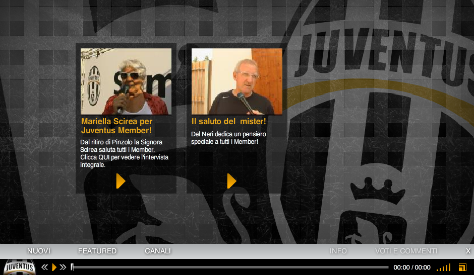 Juventus Exclusive HD Player