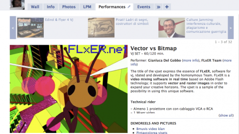 Image for: FLxER Facebook App – My Performances