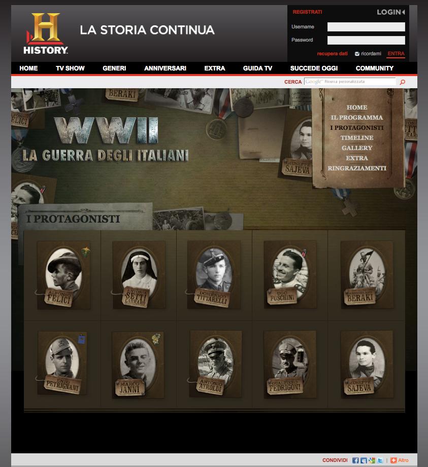 History Channel – WWII La guerra degli italiani