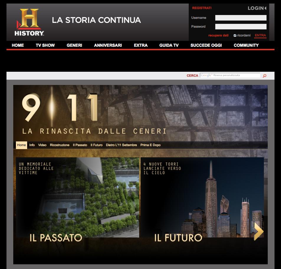 History Channel – 9/11 La rinascita dalle ceneri