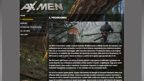 Image di: History Channel – Ax Men