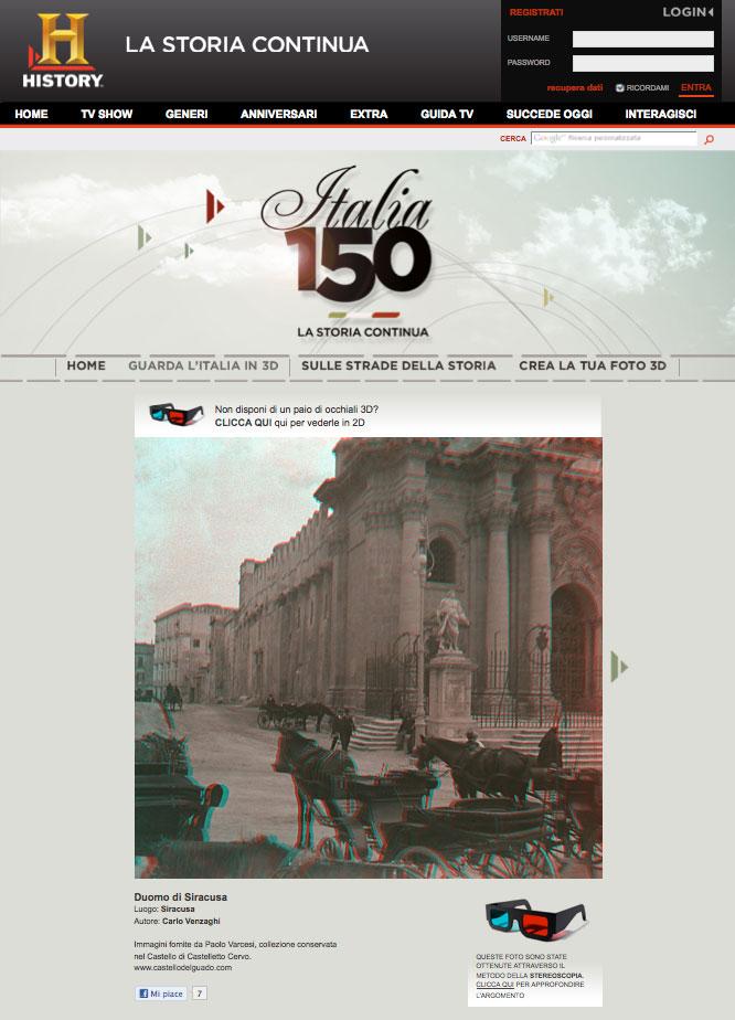 History Channel – Italia 150