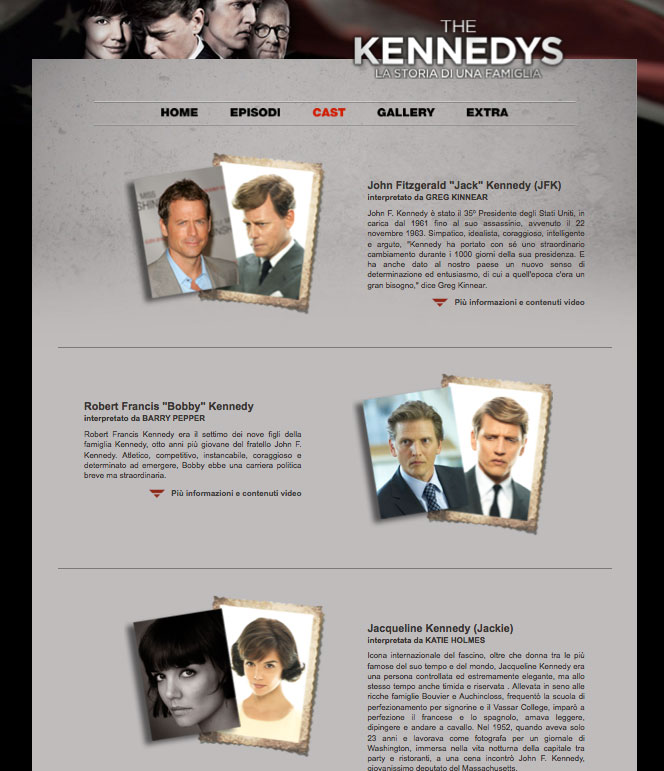 History Channel – The Kennedys