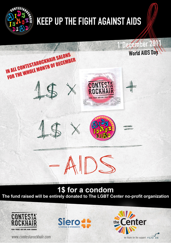ContestaRockHair – AIDS is not dead