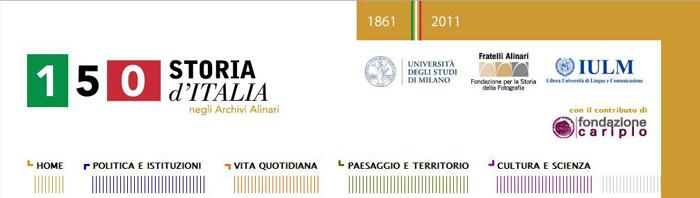 150 Storia d'Italia negli archivi Alinari