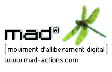Logo of Mad [Moviment d'Alliberament Digital]