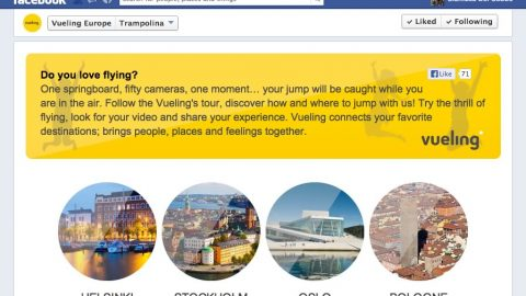 Image for: Trampolina by Vueling