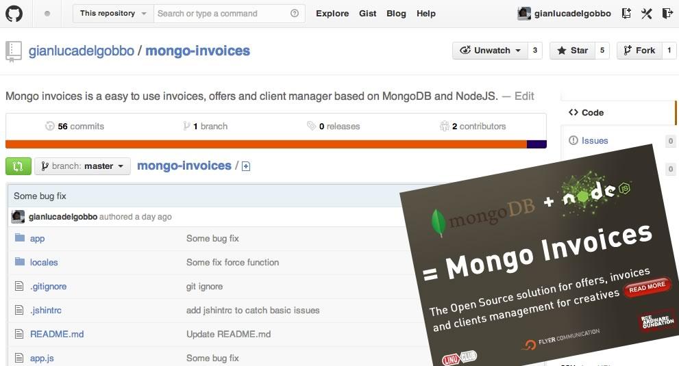 Mongo Invoices