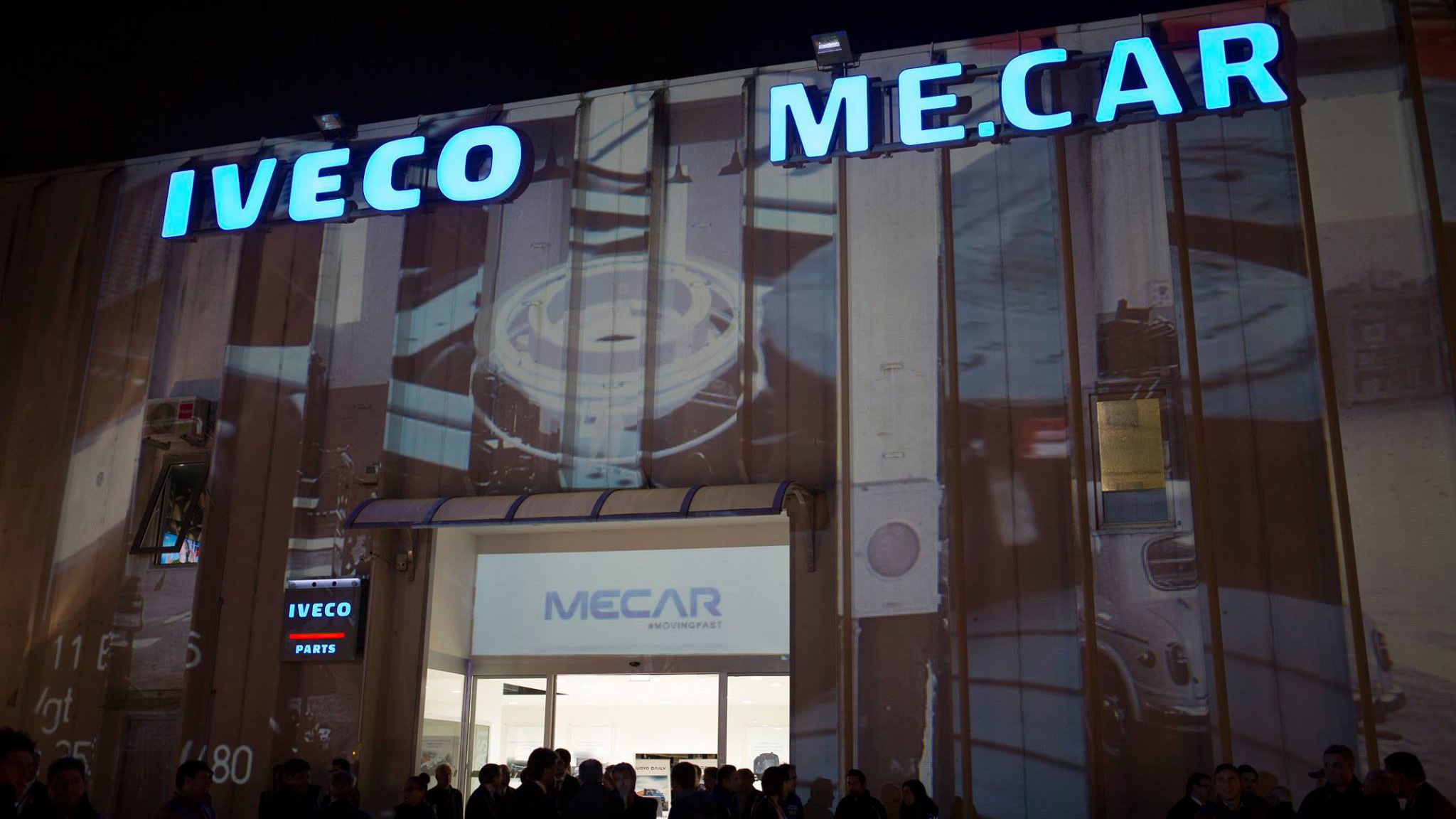 Video Mapping Mecar