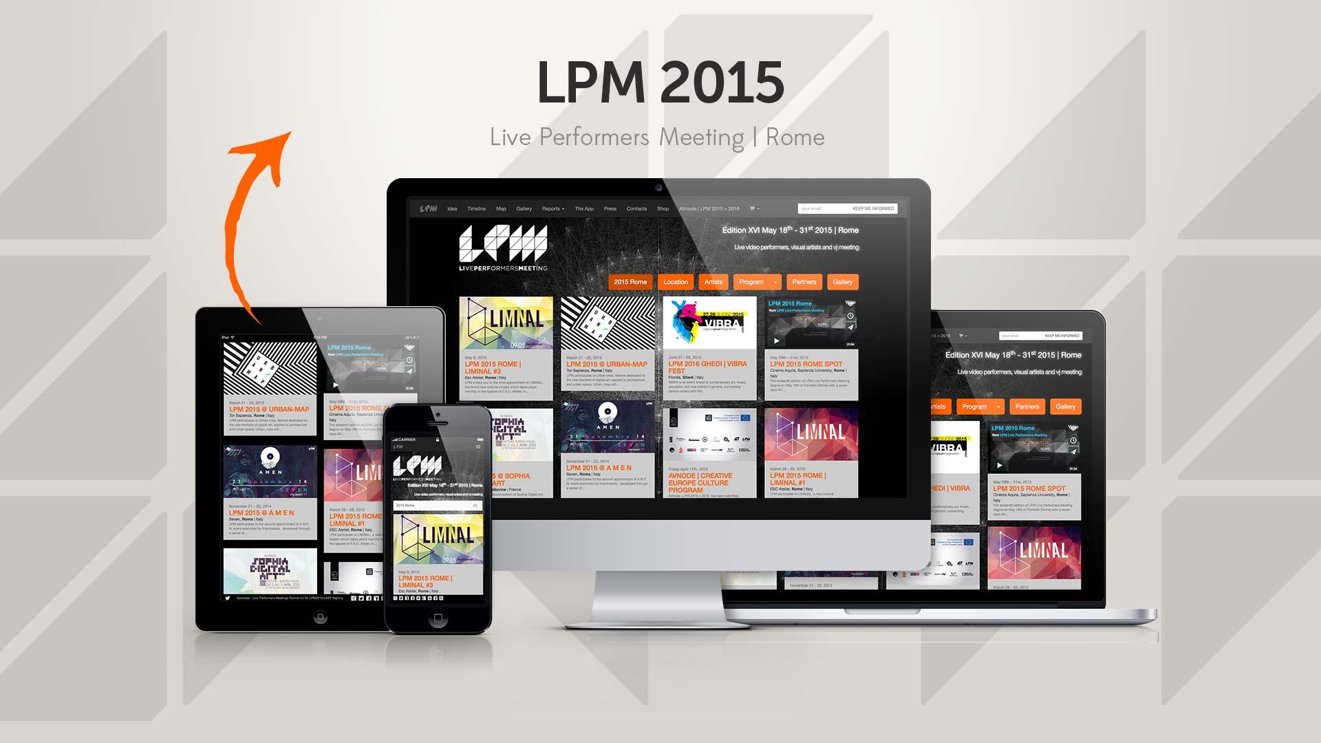 LPM 2015 Rome – Web Site
