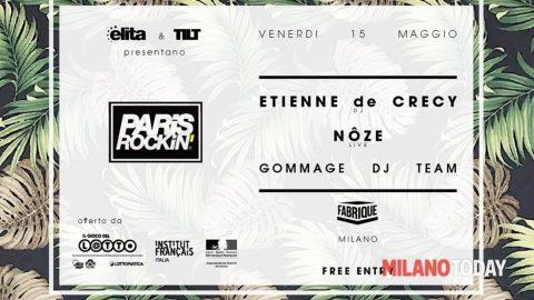 Image for: La Francia in Scena 2015 | Paris Rockin' Milano – Etienne de CrécyetNôze  | LPM 2015 > 2018
