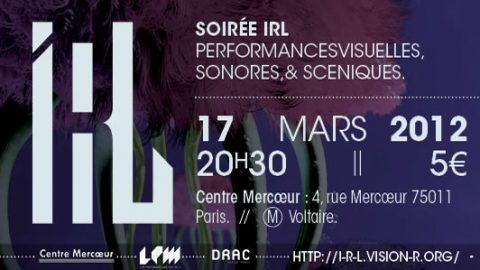 Image for: Vision'r 2012| Soirée IRL – Mars