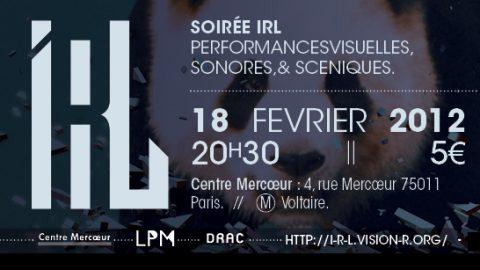 Image for: Vision'r 2012| Soirée IRL – Fevrier