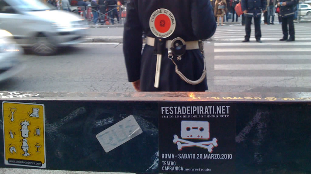 LPM 2010 Rome | Festa dei Pirati
