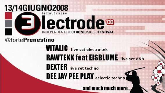 LPM 2008 Rome | Electrode 08