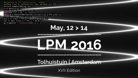 Image for: LPM 2016 Amsterdam Extended Call for Proposal