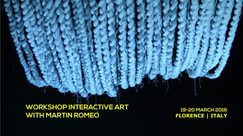 Workshop Interactive Art | Toolkit Festival