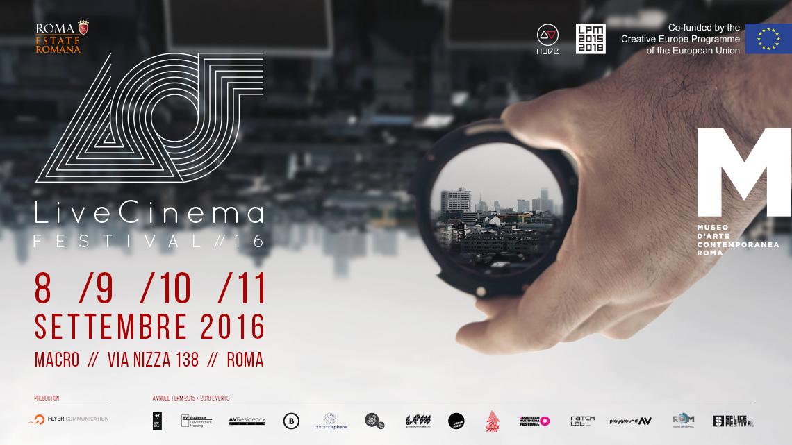 Live Cinema Festival 2016 | LPM 2015 > 2018
