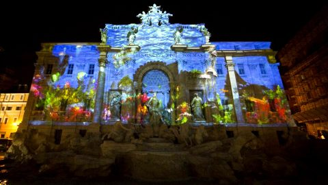 Image for: Video Mapping Fontana di Trevi