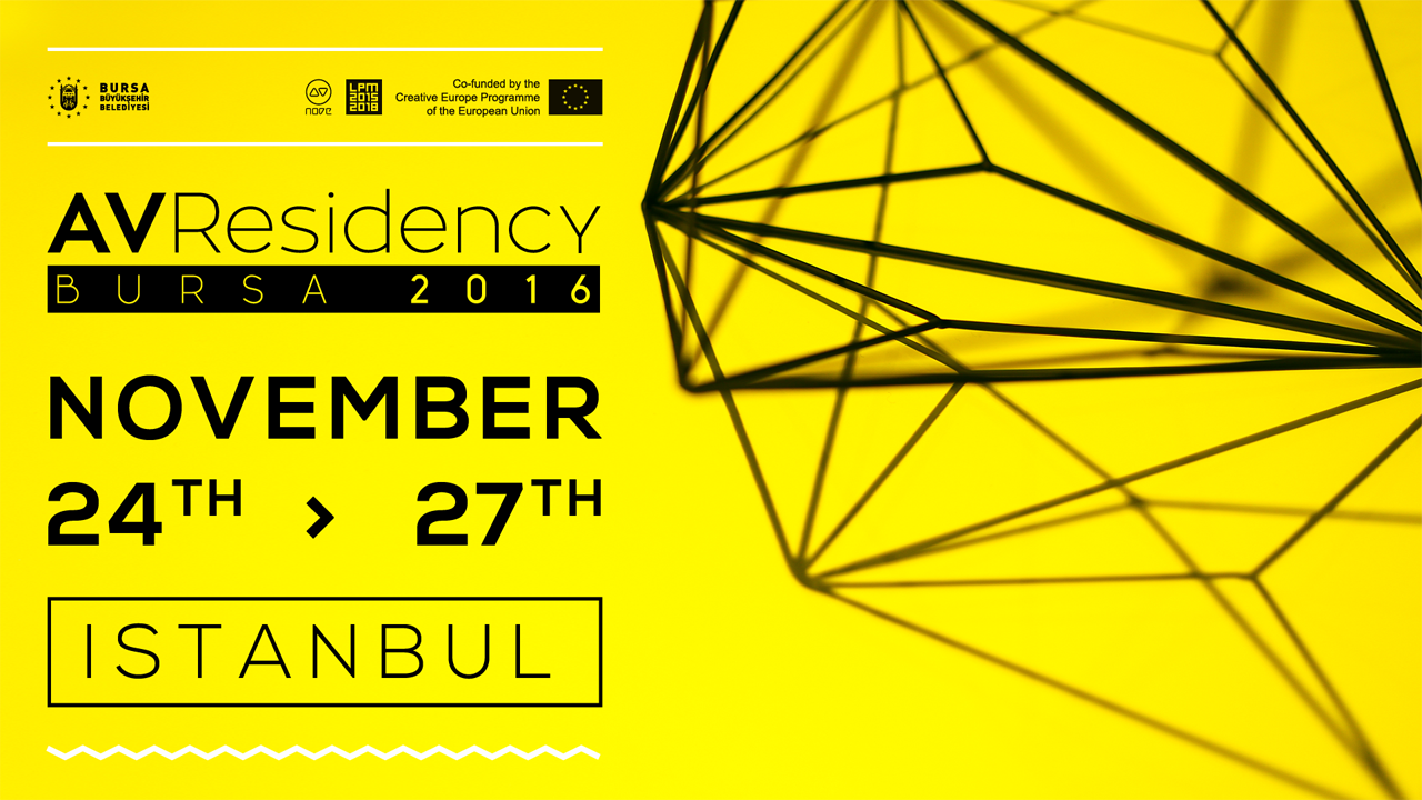 (English) AV RESIDENCY BURSA 2016 | LPM 2015 > 2018