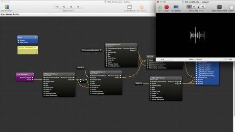 Image for: Programación aplicada al live AV Quartz Composer