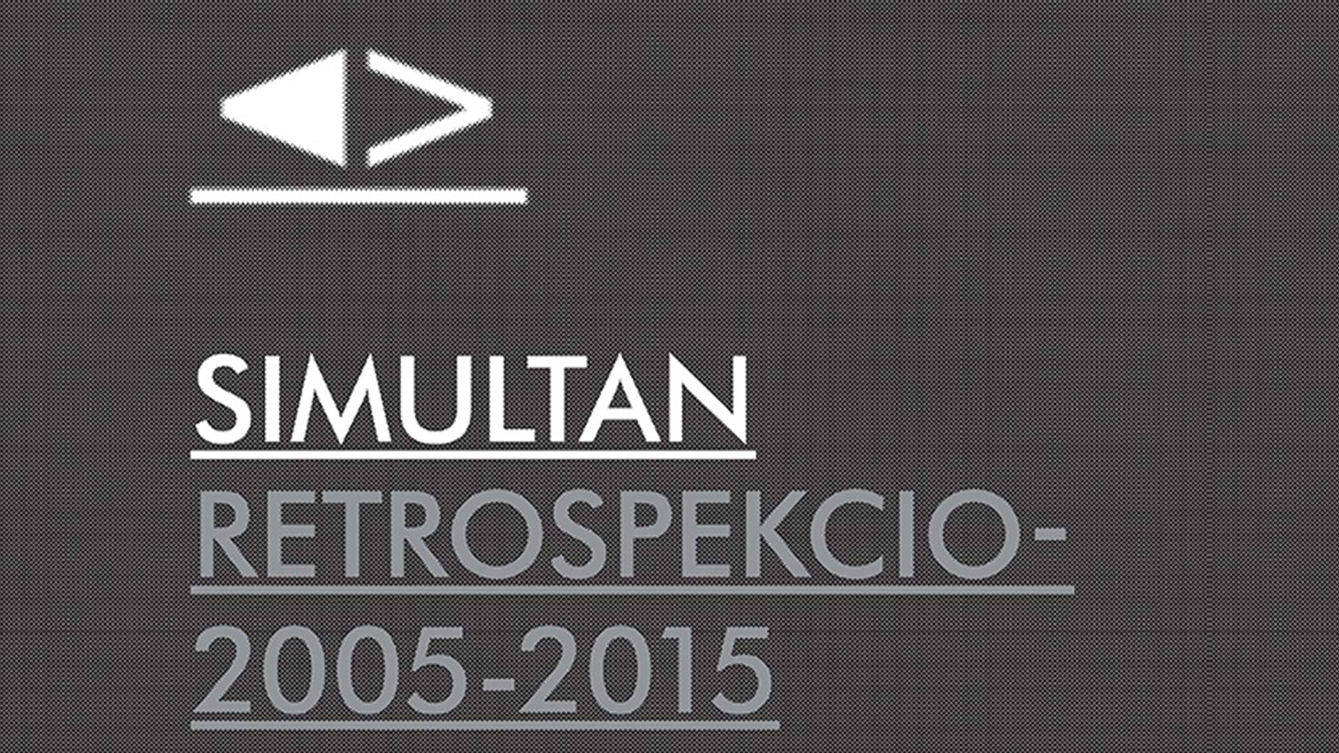 SIMULTAN RETROSCPECTION 2005-2015