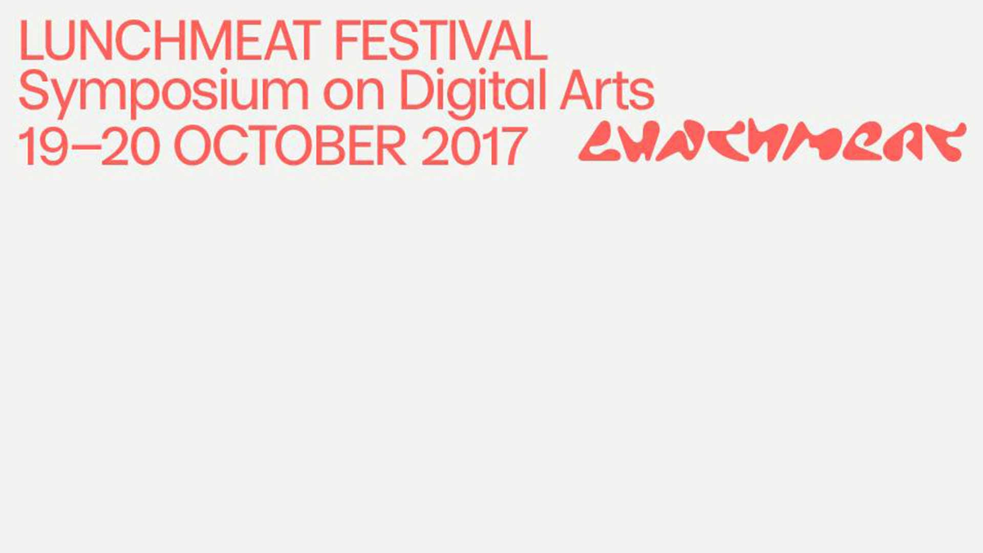 SYMPOSIUM ON DIGITAL ARTS 2016