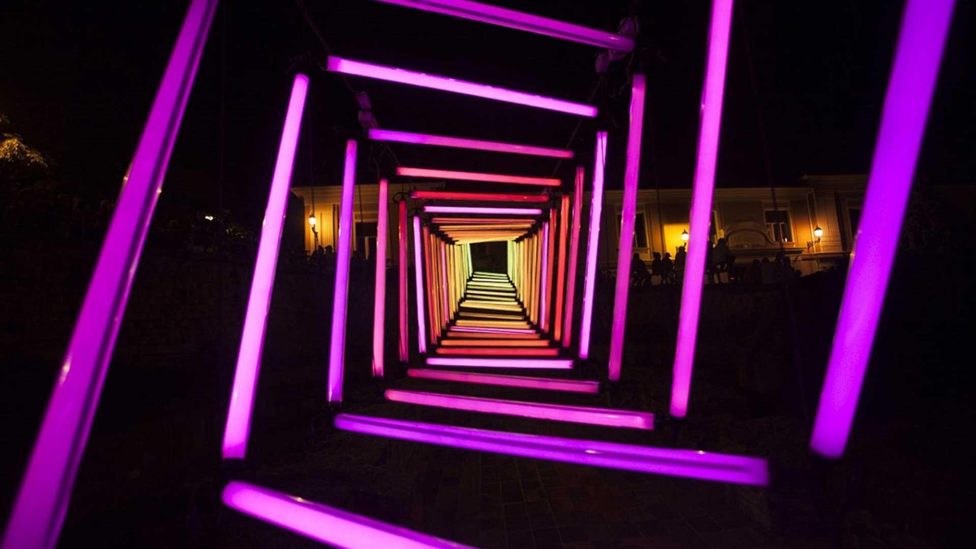 Dark Matter interactive installation
