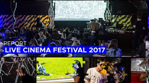 Image for: (English) Live Cinema Festival 2017 Video Report