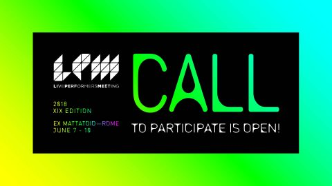 LPM 2018 Rome Call to participate