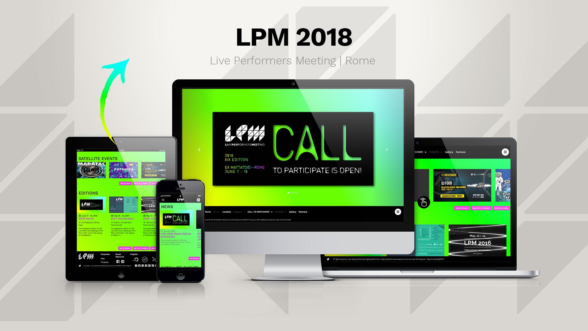 LPM 2018 Rome – Web Site