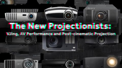 Image di: (English) The New Projectionists: VJing, AV Performance and Post-cinematic Projection