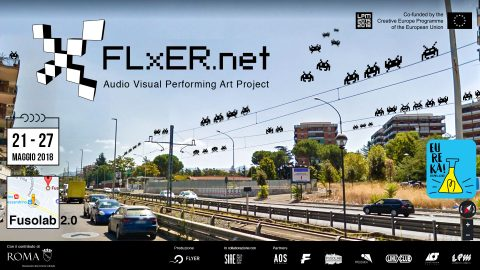 Image for: FLxER Audio Visual Performing Art Project | LPM 2015 > 2018